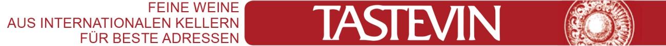 Tastevin Logo Kopfzeile